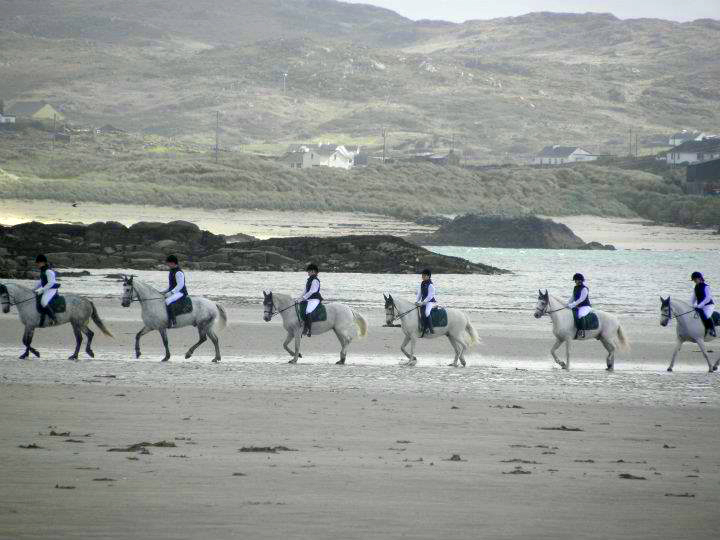 Horse Riding at Cleggan Beach Riding Centre