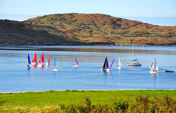 Dinghy Sailing at Clifden Boat Club, Connemara