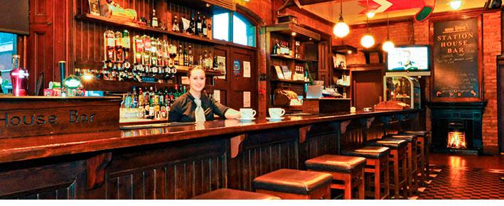 Signal Bar, Clifden Station House