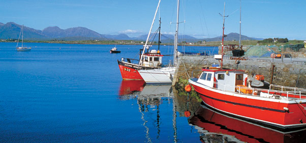 Roundstone Harbour, Connemara