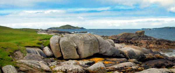 Omey Island, ff Claddaghduff, Connemara
