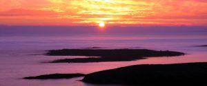 Sunset for Sky Road, Clifden, Connemara