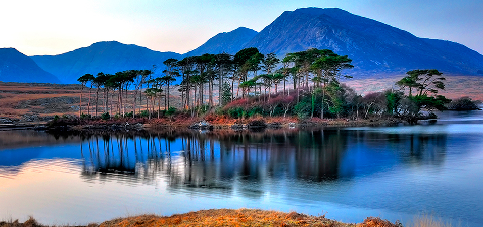 Derryclare Lake by Robert Riddell
