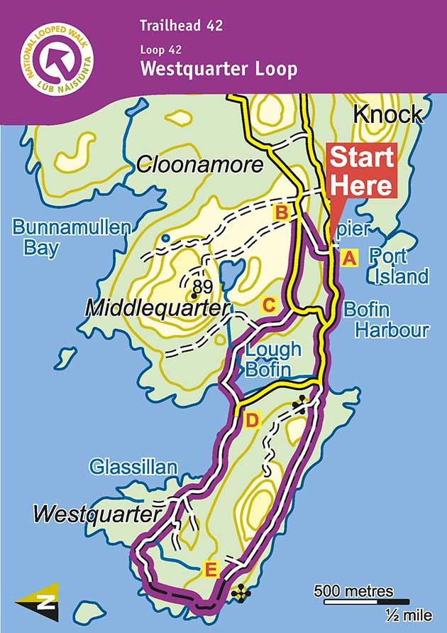 Inishbofin Westquarter Loop, Connemara